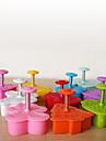 Cake Decorating Cutter, couleur aléatoire / Forme