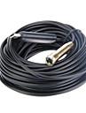 USB impermeabil și flexibil Camera de inspecție Microscop Borescope endoscop 15m Plug