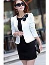 CHAOLIU femei Coreea alb Stil Slim Fit Ol Suit