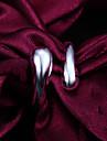 De înaltă calitate Punk argint placat Polished femei manșetă Ring