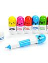 söt piller blå bläck kulspetspennor (1 penna)