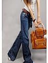 Femei Pantaloni montate Demin
