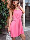 Zoey femei spatele gol roz rochie