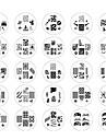 25st 2014 New Style nagel konst stämpel Stämpling Bild Mall Suits