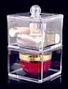 Sminkförvaring Makeup-låda / Sminkförvaring Akrylfiber Enfärgat 17x9x9