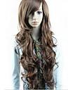 Perruques synthétiques long ondulé Perruques Perruques pleine Bang 3 couleurs disponibles