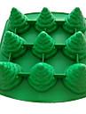 Arbre de Noël en forme de moule à gâteau en silicone Décoration cuisson outil