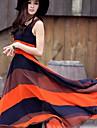Femei Boemia Contrast culoare Maxi Dress