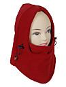Unisex Utomhus vindtät Red Polar fleece Cykling Mask