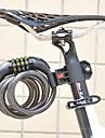FJQXZ vélo ABS Ingénieur plastique anti-vol noir codé de verrouillage