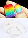 8PCS professionnel manucure éponge Nail Art Outils pour Gradient Couleur Nail Art & Mulit-couleur des ongles