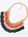 Shadela Bohemian Orange Fashion Halsband CX088-1