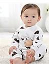 Vacă băiat de design pentru copii Romper deschide pantaloni