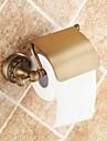 """Porte Papier Toilette Laiton Antique Fixation Murale 140 x 134 x 66mm (5.51 x5.27 x 2.59"""") Laiton Traditionnel"""