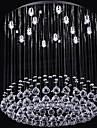 sl® lyx kristall pärla 13 lampor ljuskrona i rund form