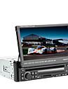 7 pouces TFT écran 1Din au tableau de bord voiture lecteur DVD avec GPS, BT, RDS, iPod, écran tactile