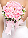 "Flori de Nuntă Rotund Trandafiri Buchete Mătase 11.8""(Approx.30cm)"