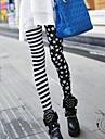 caracteristice stele și banda jambiere imprimare de moda pentru femei