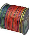 500M / 550 varv PE Frätlina / Dyneema Fiskelina Blandade färger 40 pund 35 pund 30 pund 22 pund 0.2;0.23;0.26;0.28 mm FörSjöfiske