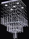 50W cristal candelabru cu 5 lumini în Piața Shape