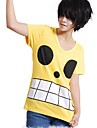 Inspirerad av One Piece Monkey D. Luffy Animé Cosplay-kostymer Cosplay Toppar / Bottoms Tryck T-shirt Till Man