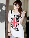 Femei de înaltă calitate de imprimare cu maneci scurte Modal Stretch libere Big Yards Jack Millet T-Shirt
