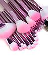 22 ensembles de brosses Poil Synthétique Pinceau en Nylon Visage Lèvre Œil