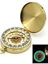 Flip-ouvert plaqué or noctilucent Pocket Compass