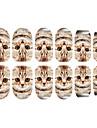 12PCS Cat Pattern Luminous Nail Art Stickers