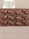 Cake Box Silicone Couleur de dinosaure Moule à Chocolat, 21.5x10.8x1.4cm (couleur aléatoire)