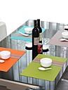 1 Plastique Sets de table