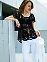 femei străpuns bluză de croșetat