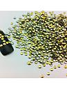 100PCS 2x2mm ronde Punk or Rivet Nail Art Décorations