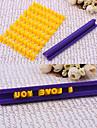 scrisoare plastic&Numărul de timbru cookie, culoare aleatorii