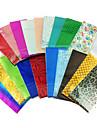 Couleurs 10PCS Mix Laser Foil Décorations Nail étoilées Nail Stickers (couleur aléatoire)