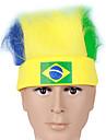 2016 EM i fotboll Brasilien fans cosplay pannband