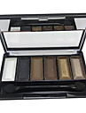 6 couleurs de maquillage Palette Ombre à Paupières (CY3207-01)