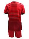 KOOPLUS® Homme Football Shirt + Shorts Ensemble de Vêtements/Tenus Printemps Eté Automne Classique Football Rouge