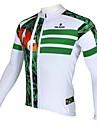 PALADIN® Maillot de Cyclisme Homme Manches longues Vélo Respirable / Garder au chaud / Séchage rapide / Résistant aux ultravioletsMaillot