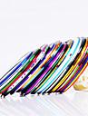12st 12-färg Striping Tape Linje negl Stripe Tejp negl konst Decoration Sticker