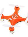 Drone 4 Canaux 6 Axes 2.4G Quadri rotor RC Vol Rotatif De 360 Degrés Vol à l'envers Vision Positionnement FlotterQuadri rotor RC