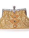 beading bröllop / speciellt tillfälle kväll handväskor / handtag högst upp väskor (fler färger)