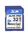 Elite Pro de haute qualité SDHC 32GB carte de mémoire SD
