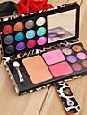 12 Color Eyeshadow Palette Professional Makeup Kit Kosmetisk Blusher Pulver Palett SV003816