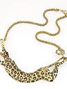 Kushang Métal nouveau collier Leopard