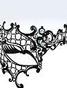 Cyclope de style en métal creux Deluxe Carnaval masque de mascarade avec strass