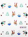Série de Noël 3D Nail Sticker