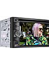 """6.2 """"lecteur DVD de voiture 2 DIN écran LCD tactile au tableau de bord avec Bluetooth, GPS, iPod, jeux, radio stéréo, vtt"""