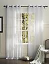 pays un panneau rideaux solide chambre blanche de polyester pure nuances