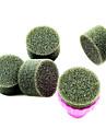 1PCS Manikyr Sponge Nail Art Stamper Verktyg med 5PCS Sponge Nail för Gradient Color Nail Art